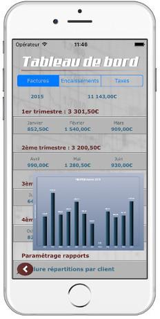 Créez des devis et factures professionnels au format PDF directement depuis votre iPhone iPad ou Android
