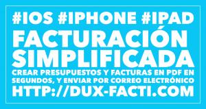 facturacion simplificada iphone ipad ios facturas presupuestos